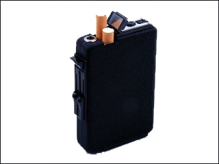 Cigarette Camera Case Poker